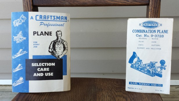 Original Craftsman booklets were included