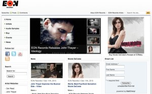 EON Records website