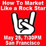 How to market like a rock star.