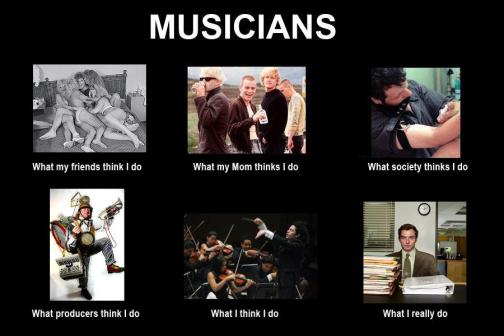 How do you see the life of a musician