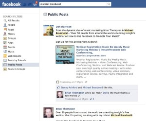 Search Facebook Public Posts
