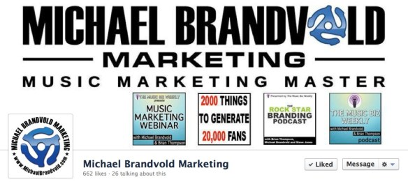 Michael Brandvold Marketing Facebook Page Cover Image