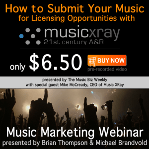 Music Biz Weekly Presents How To Use Music Xray to Submit Your Music for Licensing