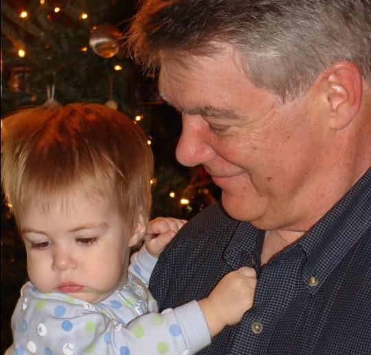 Grandpa with Miles