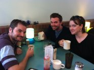 Meeting up with another NTC tour company, Andy and Rebecca, in Winston-Salem, NC.