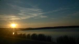 Sunset in South Dakota