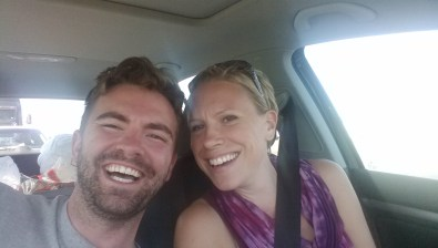 Katie and Michael on the Road