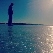 My dad the moment before we said goodbye for my NTC tour. Minnetonka, MN, USA.
