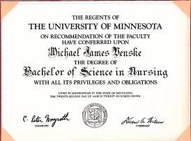 Finally earned my nursing degree!