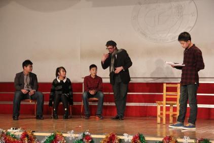 """Something Something Juliet"" in performance in Zibo, Shandong, China."