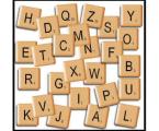 Scrabble-tiles