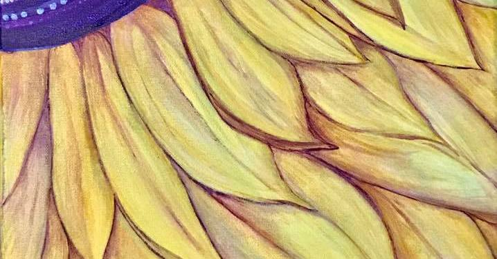 Art Stories: Simple Sunflower