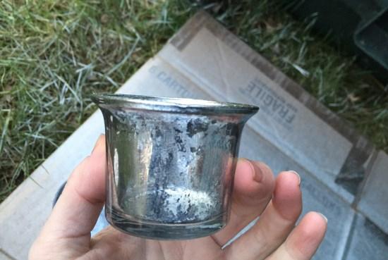 mkl michelleklare mercury glass votive diy