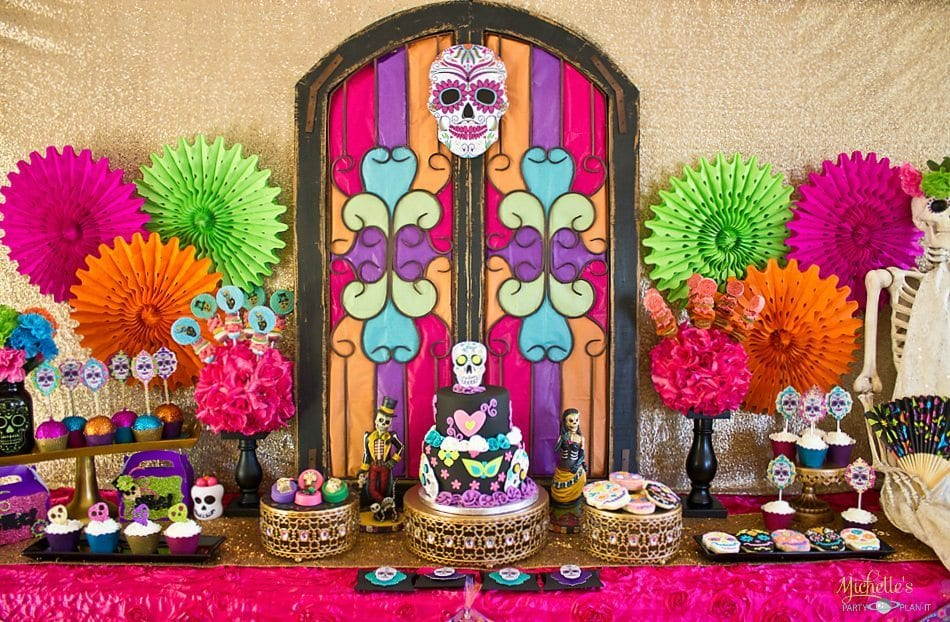 Day Of The Dead Party Decorations Images