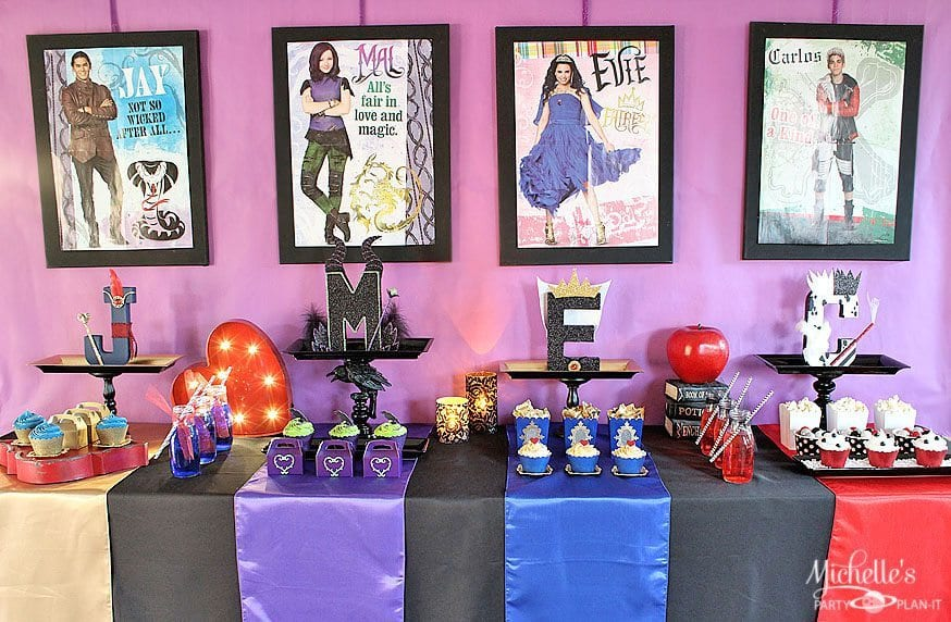 How to Plan a Disney Descendants Watch Party