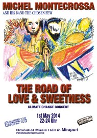 The Road Of Love & Sweetness Concert