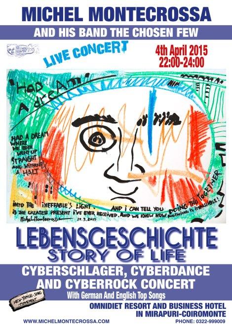 Michel Montecrossa's 'Lebensgeschichte - Story Of Life' Concert