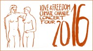 Love & Freedom Climate Change Concert Tour 2016 Logo