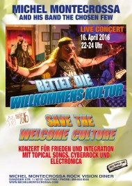 Rettet die Willkommens Kultur - Save The Welcome Culture