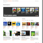 Une version en ligne du MarketPlace pour Windows Phone 7 Mango