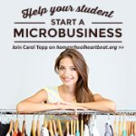 Homeschool Heartbeat: Help your student start a micro business