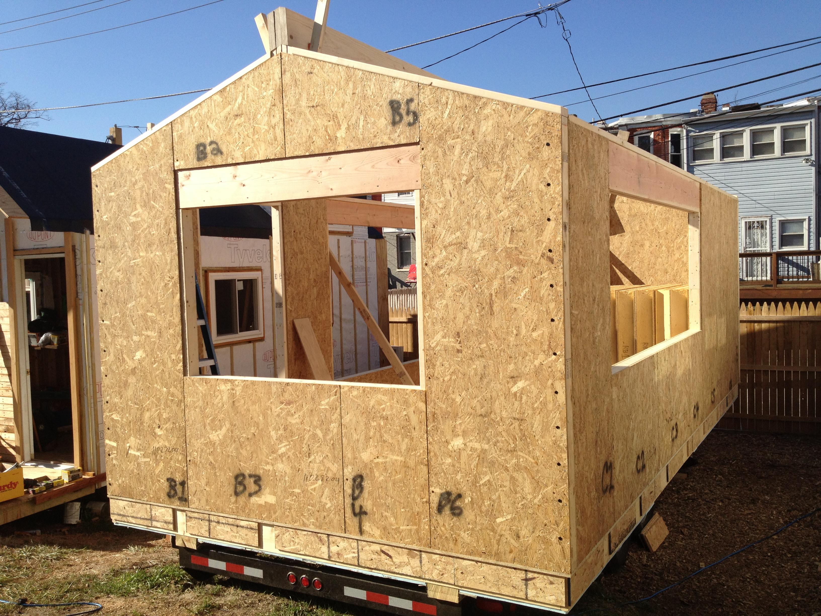 Minim house construction starts