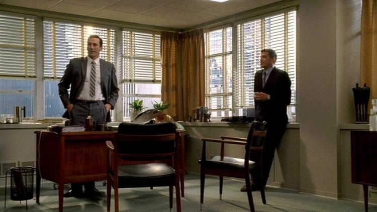 mad men furniture draperu0027s office donu0027s