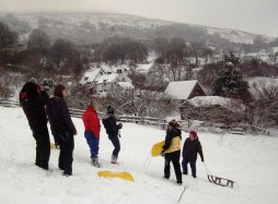 winter sport at Middle Ninfa