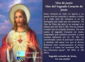 MES DE JUNIO, MES DEL SAGRADO CORAZÓN DE JESÚS DÍA 3