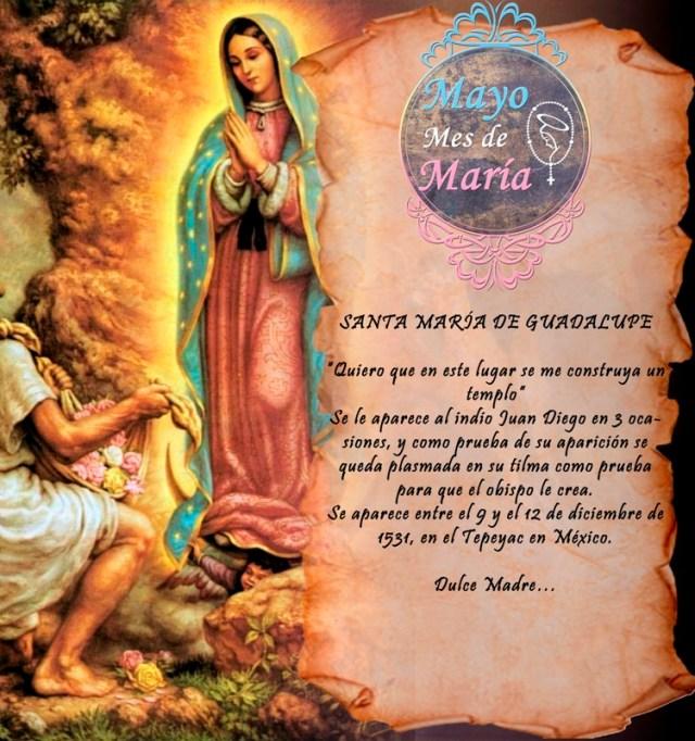 MES DE MAYO, MES DE MARÍA DÍA 23