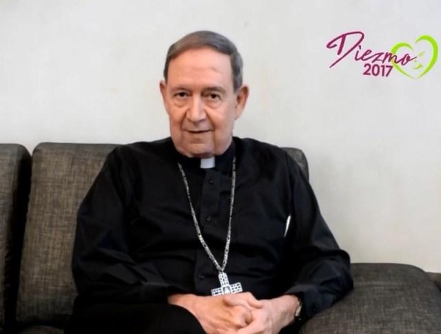 VIDEO 3: INVITA MONS. ALONSO GARZA A CUMPLIR CON EL DIEZMO 2017