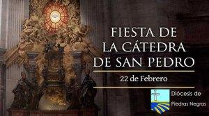 Hoy se celebra la festividad de la Cátedra de San Pedro