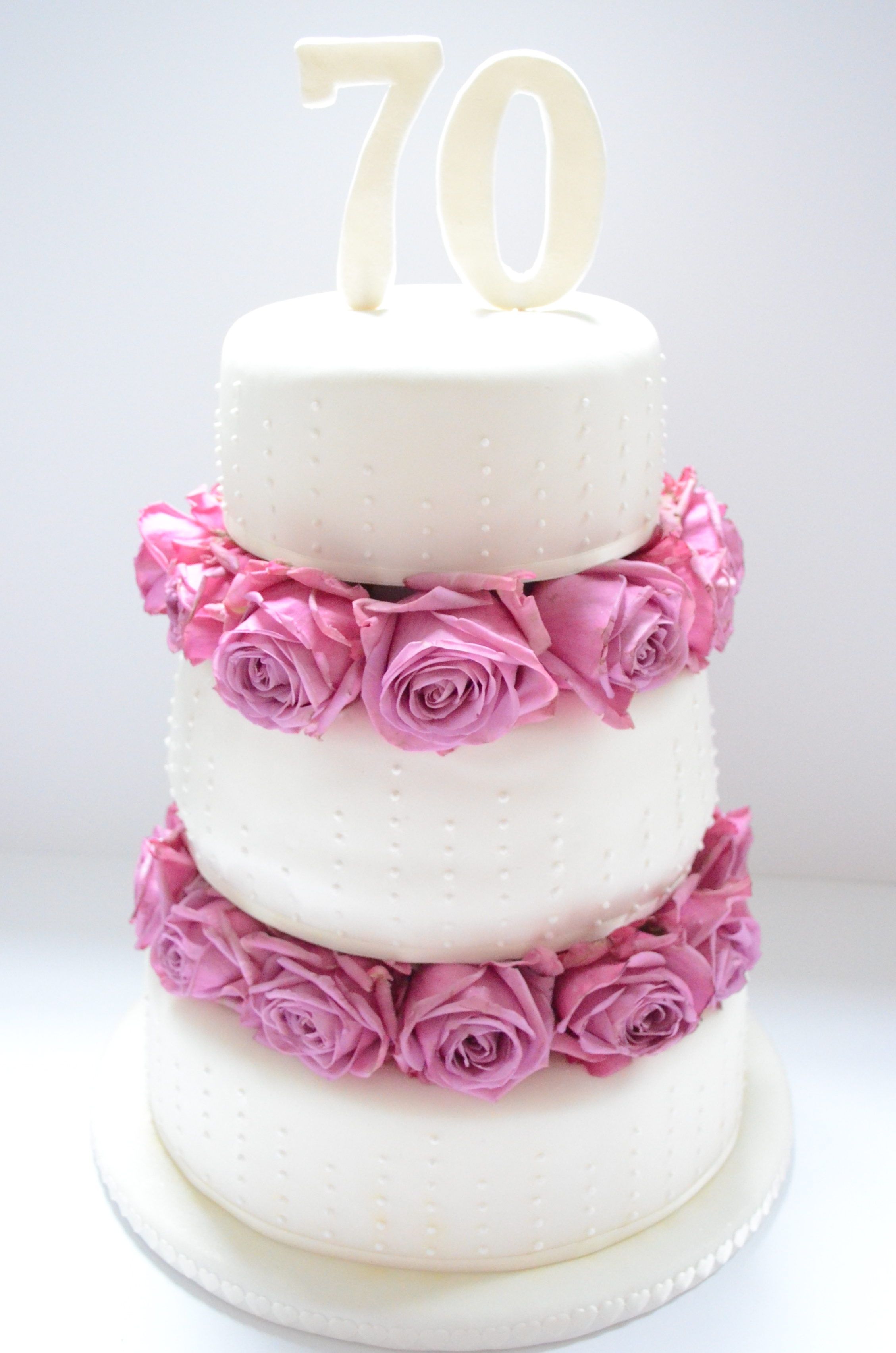 Trendy Dad India Three Tiered Birthday Fondant Cake Midnight Hausfrau Birthday Cake Ideas Three Tiered Birt 70th Birthday Party Ideas Nz 70th Birthday Party Ideas ideas 70th Birthday Party Ideas