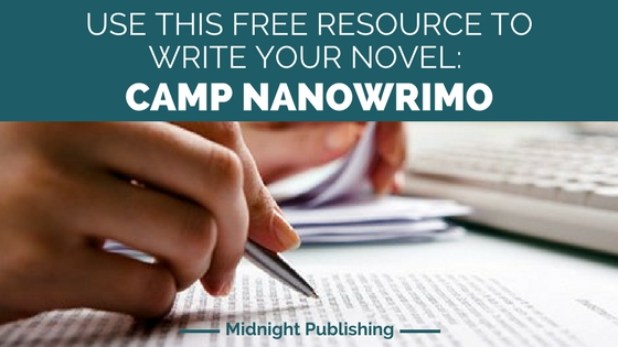 Use this Free Resource to Write Your Novel: Camp NaNoWriMo