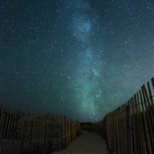 Milky Way over Horseneck Beach