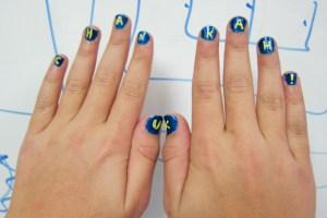 Channukah! Fingernails