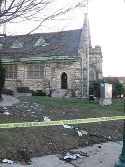 church-after-fire