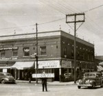 The 3900 block of Central is near the corner of Broadway and Westport Road, where the Corner Restaurant now stands. In the 1940s, when this photo was taken, the building appeared to house the headquarters for a Jackson County Sheriff candidate.