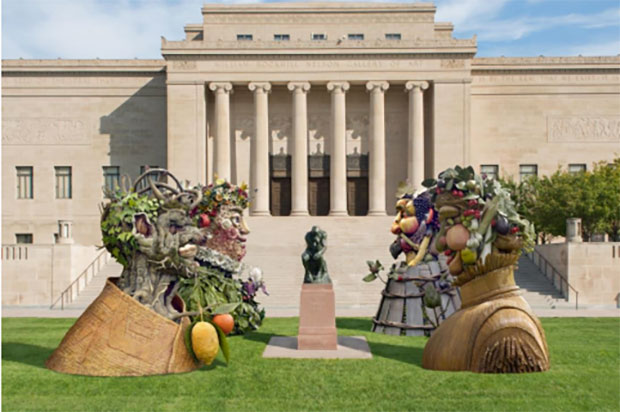 Courtesy Nelson-Atkins. Artists rendering.