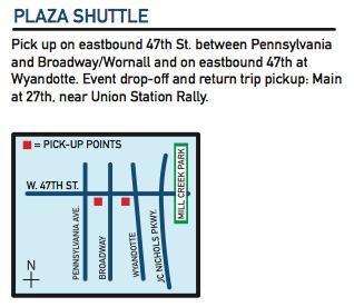 plaza shuttle