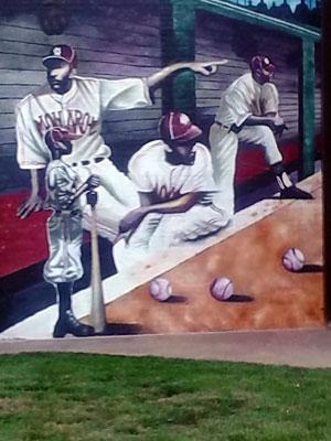 Negro Leagues baseball sites are part of Stafford's tours of Kansas City black history.