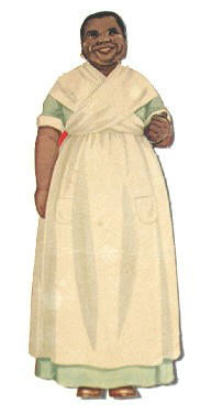Aunt Jemima paper doll. Courtesy National Museum of Toys and Miniatures.
