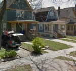 A recent Google maps view of the 4300 block of Walnut.