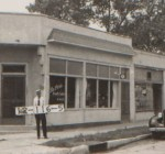 Like many corner stores, this one at W. 47th Street and Holly had been many things through the years. Earliest mention is in 1917, when it was a grocery store.  By 1921, it had become a meat market, then served as a clothes pressing establishment before reverting to a grocer store in the mid-1930s. It became a beauty salon in the late 1950s and is still in operation.