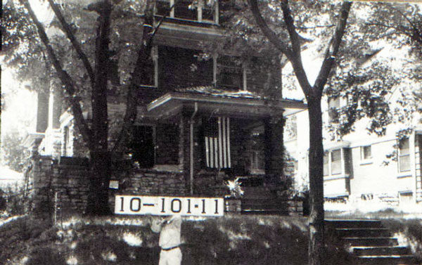 In 1940, this home on the block between Armour and 36th, Tracy to Virginia, proudly displayed an American flag. Before many of the homes were built, Kansas City pioneer George Sedgewick and his wife made their home at the corner of Armour and Virginia before platting the area as Sedgewick Place.
