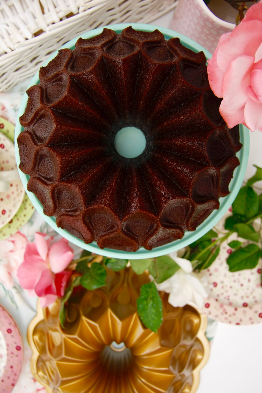 bundt cake chocolate y café 3