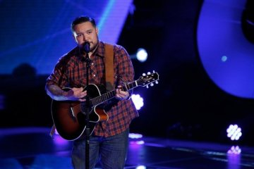 """THE VOICE -- """"Blind Auditions"""" Episode 505 -- Pictured: Lupe Carroll -- (Photo by: Tyler Golden/NBC)"""