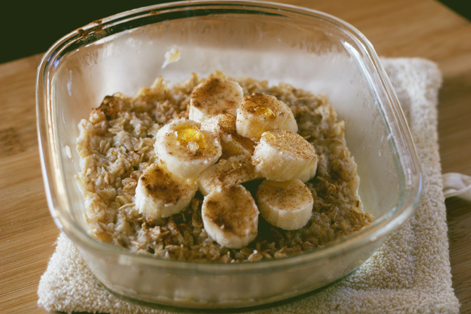 breakfast oatmeal 3 ways