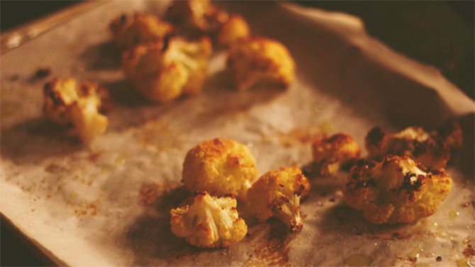 cauliflower poppers (the new french fry)