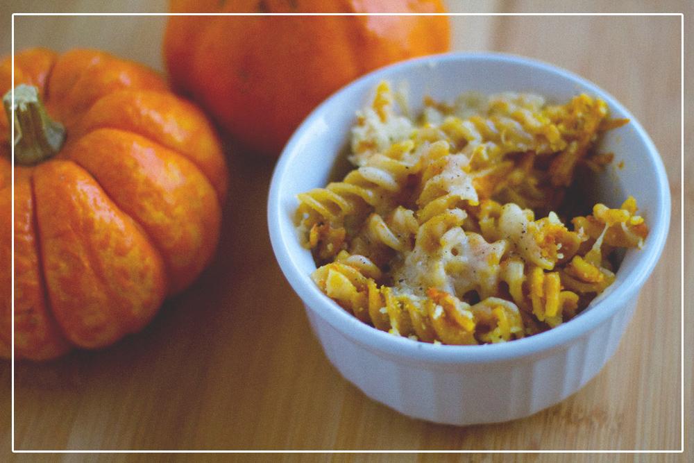 pumpkin pasta bake